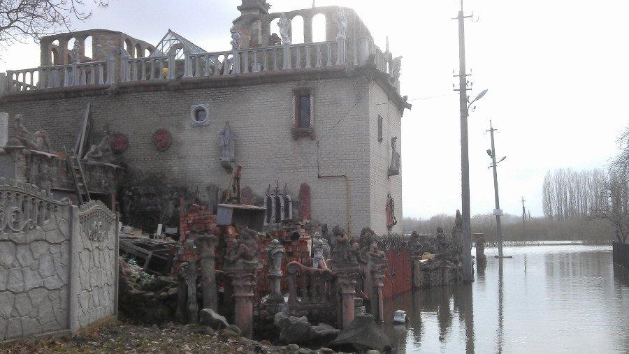 Будинок з химерами в Луцьку