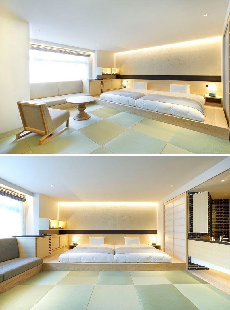 Ліжко на платформі
