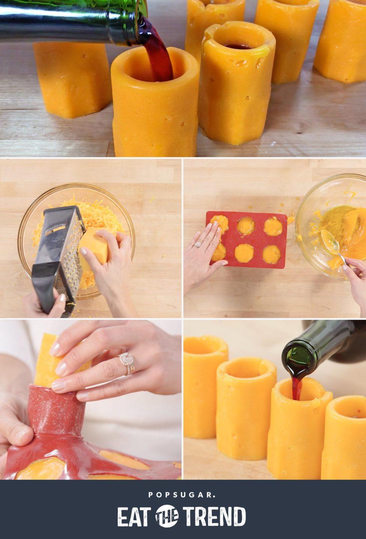 Бомбезно: сирні стаканчики для вина